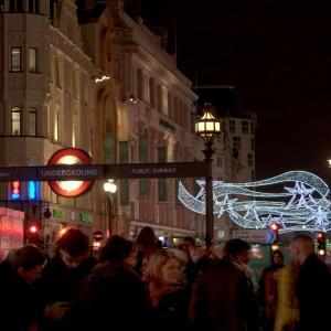 20091231 NYE London - Picadilly Circus HDR