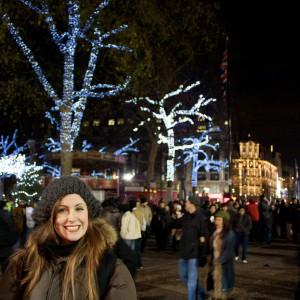 Caroline at Leicester Square