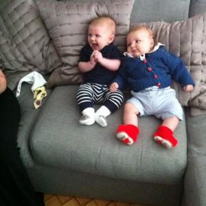 Cousins Joshua and Finlay :)