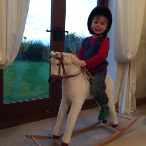 Horsey horsey, don't you stop