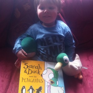 Oscar with his new book!