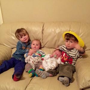 Oscar, Joshua, Elliot, Lewis