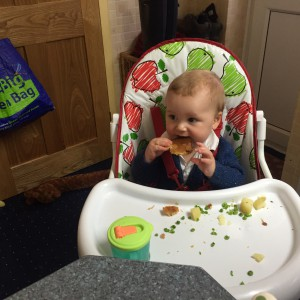 Joshua's first Yorkshire Pudding