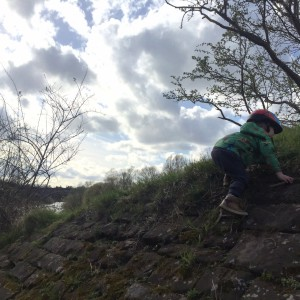 Some more epic climbing (and jumping back down)