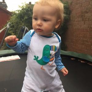 Joshua trampolining!