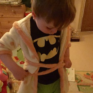 Learning to tie a knot